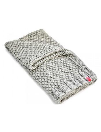 Blankets szary wzor 2