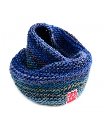 Wooldog Holi Sapphire Blue cowl