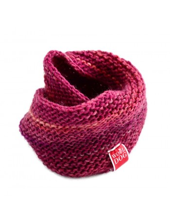 Wooldog Holi Amaranth Red cowl