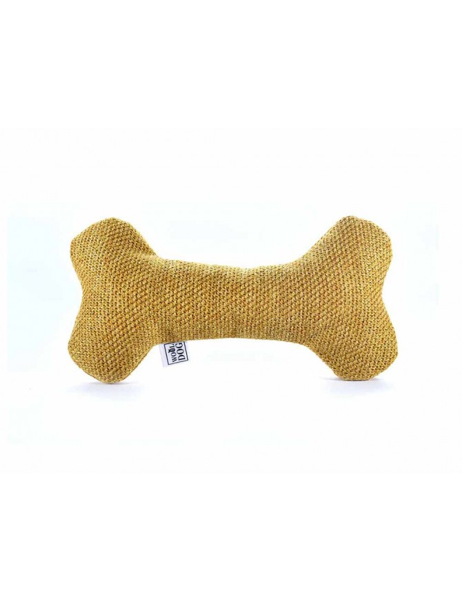 Wooldog Chewy Toys set in Mustard